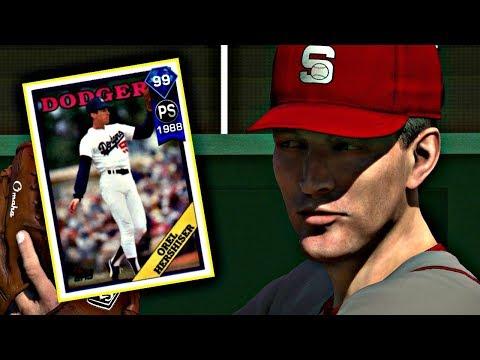 99 OREL HERSHISER DEBUT!! MLB THE SHOW 17 DIAMOND DYNASTY