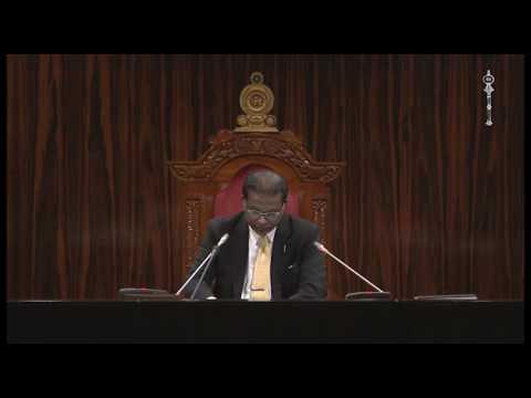 Parliament of Sri Lanka - 26 May 2017 Part 1