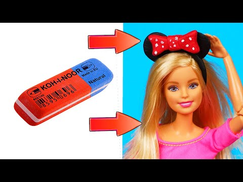 DIY Barbie Ideas | Making Easy Clothes for Barbies Dolls | Creative Fun for Kids