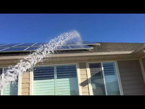 How To Clean Off Solar Panels?