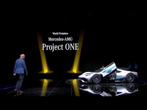 Mercedes-AMG Project One World Premiere @ IAA 2017 Media Night