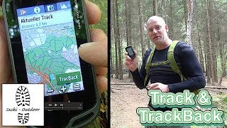 Garmin Oregon - Trackaufzeichnung und TrackBack