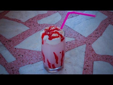 Recept za Milkshake/Mlečni frape od jagoda