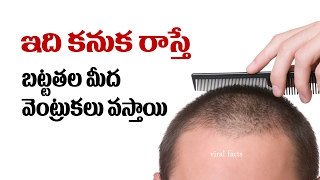 How to stop hair loss | How to fix hair fall (Telugu)