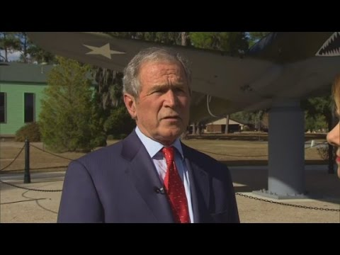 Bush refutes CIA torture report