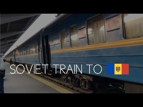 Vlog 153: TRAVELING ON A SOVIET TRAIN TO KISHINEV MOLDOVA