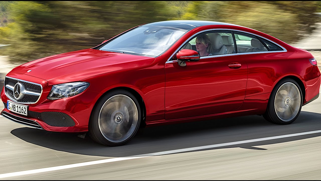 Mercedes e class coup 2017 commercial official new e for New mercedes benz commercial