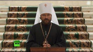 Синод РПЦ прекращает поминовение константинопольского патриарха Варфоломея