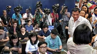 duterte latest news august 14 2018 press briefing at the malacaang press corps mpc