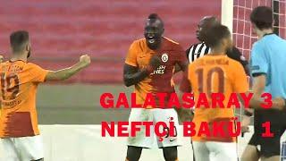 Galatasaray 3 - 1 Neftçi Bakü MAÇ ÖZETİ VE GOLLERİ (UEFA Avrupa Ligi 2. Ön Eleme Turu)