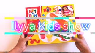 Super Modeling clay art and fun creative Kids show