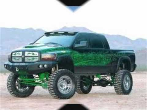 Jacked Up Trucks And Cars Youtube