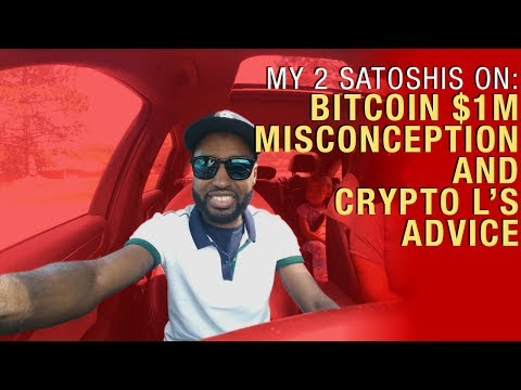 $1 Mln Bitcoin Price Target Misconception And Crypto L's Advice