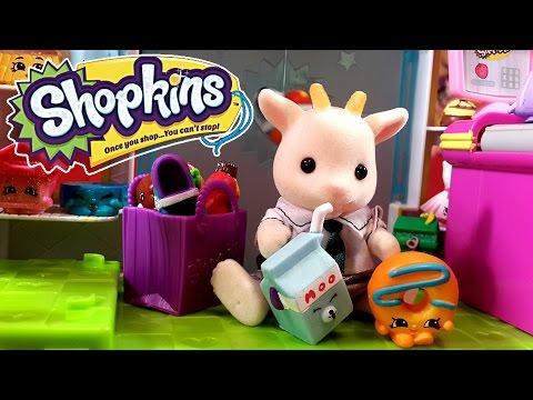 Шопкинс 4 сезон корзиночки  Shopkins 4 season blind bags. Распаковка на русском  мультик