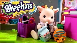 Шопкинс 4 сезон корзиночки / Shopkins 4 season blind bags. Распаковка на русском + мультик