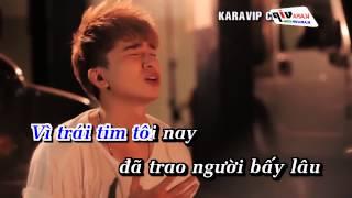 Karaoke Không Quan Tâm Chi Dân Full Beat