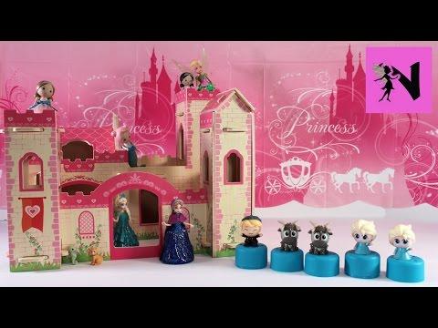 Princess Mooshka Castle Disney Frozen Fashems Surprise Elsa Anna Tinkerbell
