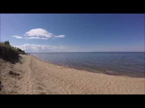 Short Walk from Free Casino Camping to Swimming & Sunsets on Lake Superior