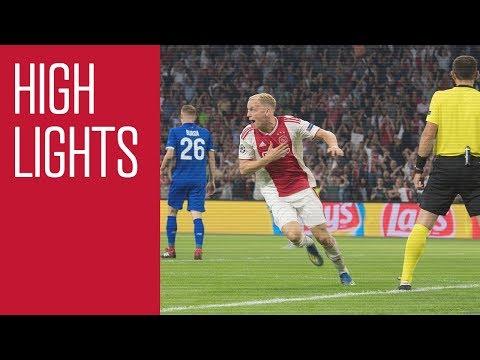 Highlights Ajax - Dynamo Kiev (Champions League)