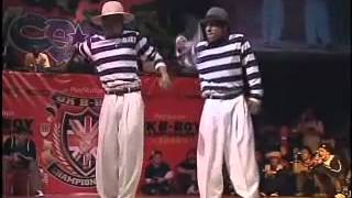UK B-BOY Championships 2006 Final (GoGoBrothers VS P-Lock&J-Soul)