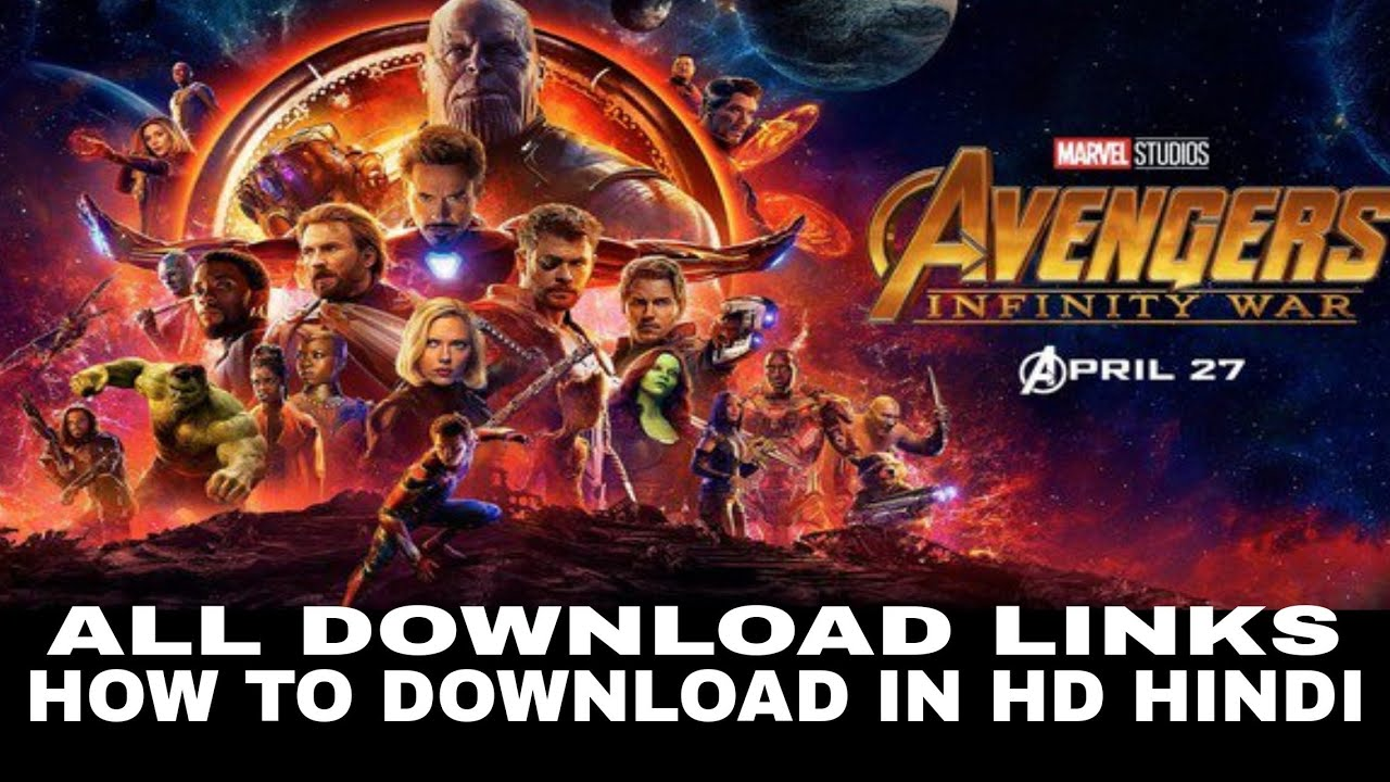 Avengers Infinity War 2018 Full Movie Download In Hindi Links Direct