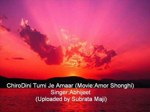 ChiroDini Tumi Je Amaar (Amor Shonghi) by Abhijeet