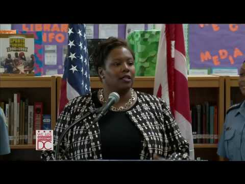 Mayor Bowser Launches Police Academy at Anacostia High School, 9/15/16