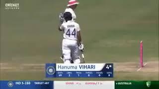 Vihari and Ashwin save 3rd test vs Australia
