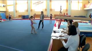 Первенство Томской области по спортивной гимнастике