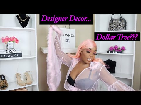 DIY Designer Room Decor| Dollar Tree items