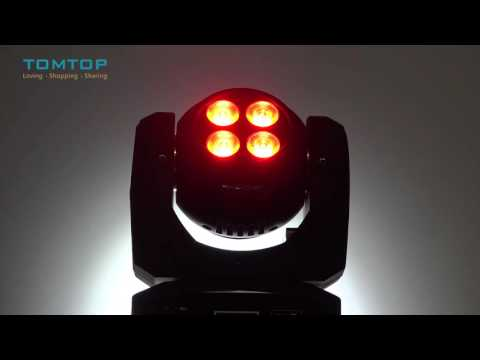 LIXADA Infinite Rotating Moving Head LED Stage Pattern Lamp for Indoor Disco KTV Club Party