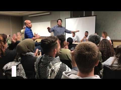 Why were Israeli army reservists at UC Irvine harassing students?