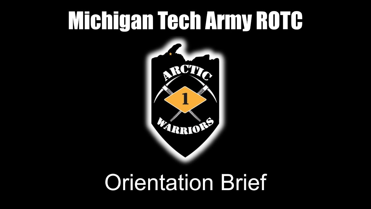 Preview image for MTU Army ROTC Orientation Brief video