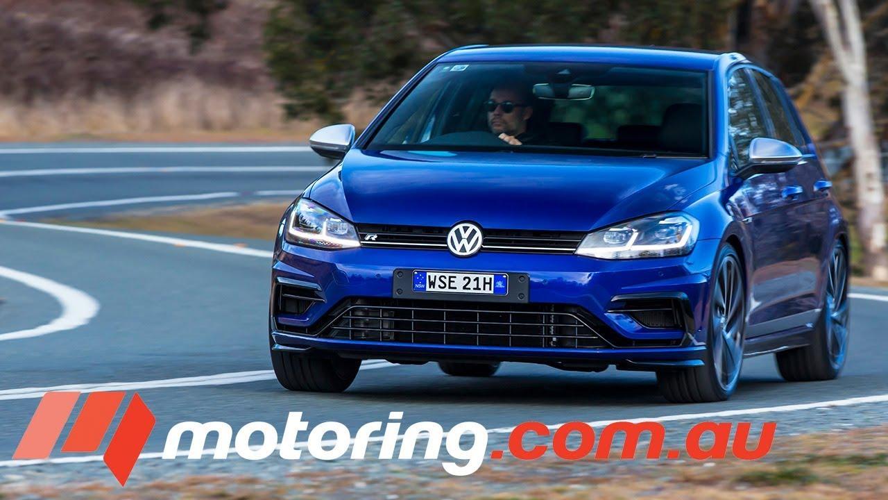 2017 Volkswagen Golf R Review | motoring.com.au - Dauer: 3 Minuten, 56 Sekunden