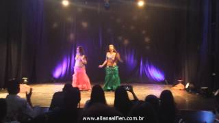 Allana Alflen e Janah Ferreira - Baladi Congress 2014