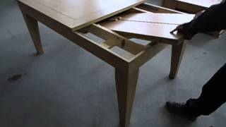 Wissman Dining Table Butterfly Extension
