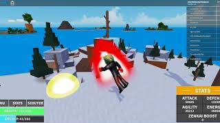 DRAGON BALL EN ROBLOX-EXTREMEZ636