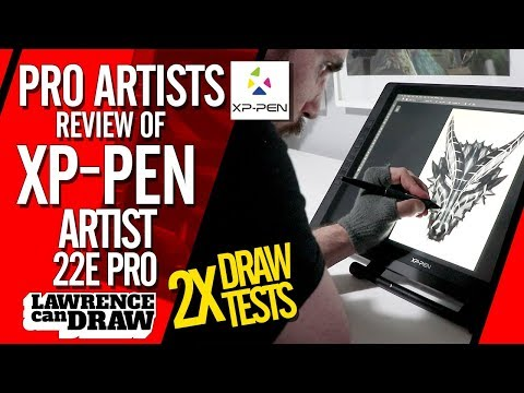 XP Pen ARTIST 22E PRO  - REVIEW by a Professional Digital Artist
