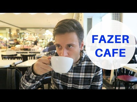 The must go cafe for tourists! | Fazer Cafe Helsinki