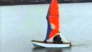 Складной парус для лодки