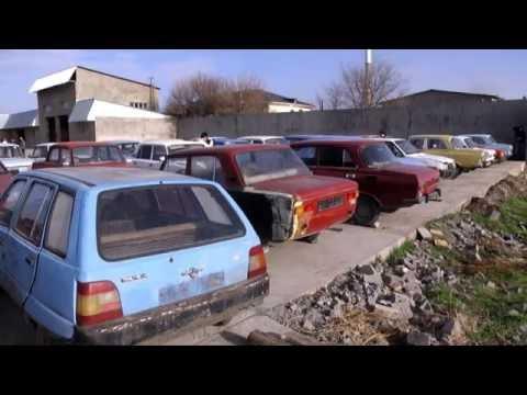 В Шымкенте идет акция по утилизации старых автомашин
