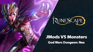 J-Mods vs Monsters: Nex | RuneScape PvM Stream (July 2021)