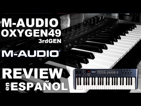 M-Audio Oxygen 49 Review en Español