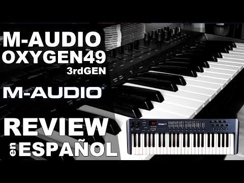 M-Audio Oxygen 49 Review en Español