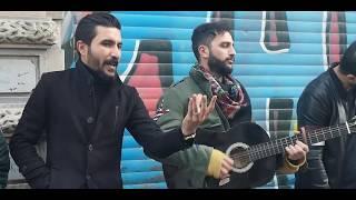 Taksimi yıkıp sallayan sokak sanatçıları ve amcamız 4K