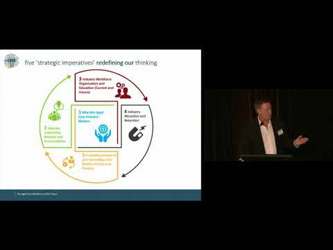 Professor John Pollaers at COTA/ACSA Quality in Aged Care Conference March 2018