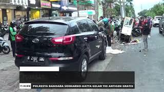 Pedagang Pempek Tewas Diseruduk Mobil | REDAKSI SIANG (25/12/20)