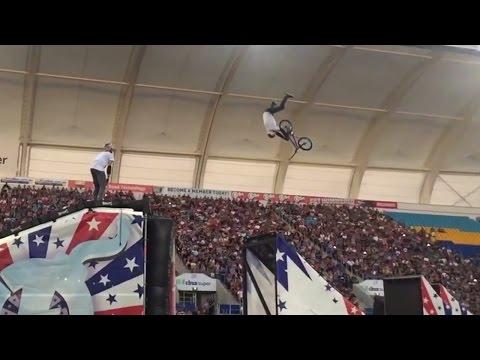 World First BMX Double Grab Front Flip