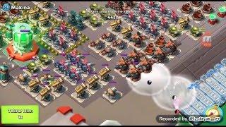 BoomBeach TÜRKİYE Timi 05.12.2015 Makina Operasyonu Organizeli Bir ...