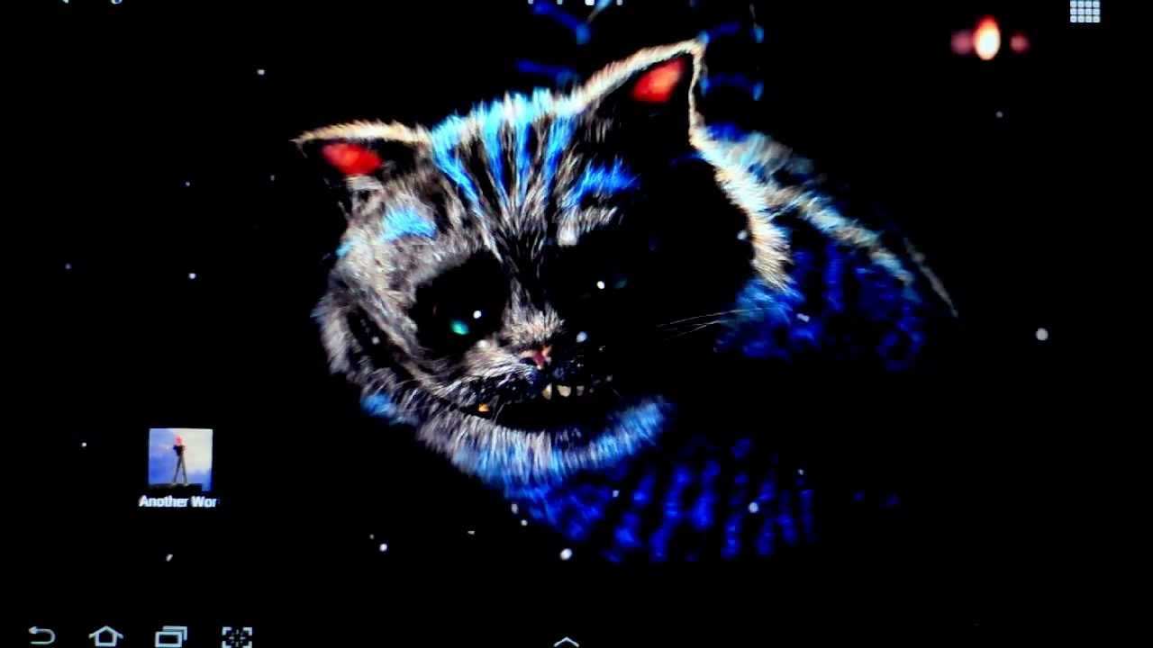 Cute Kitty Wallpapers Apps Cheshire Cat Live Wallpaper Youtube
